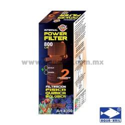 4356 ECOPET FILTRO INTERNO 2 CARTUCHOS 800L/H(24)