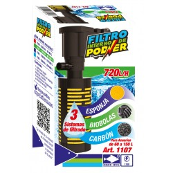 010 FILTRO INT POD 600L/H 100CM(48) 1107