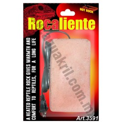 3591 ROCALIENTE PIEDRA ELECTRICA PARA REPTILES Y MAMIFEROS 17x9 cm.