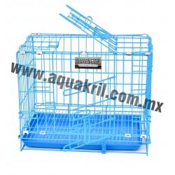 10206 sevenpet jaula 45x34x40 azul (10)