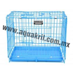 10211 sevenpet jaula 60x42x50 azul (10)