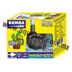 4201 AQUASUB 230 L/H .60M 2.5 (60)