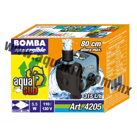 4205 AQUASUB 350 L/H .80M 5.5W (60)