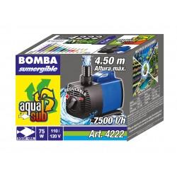 4222 AQUASUB 7500L/H 4.5M 75W