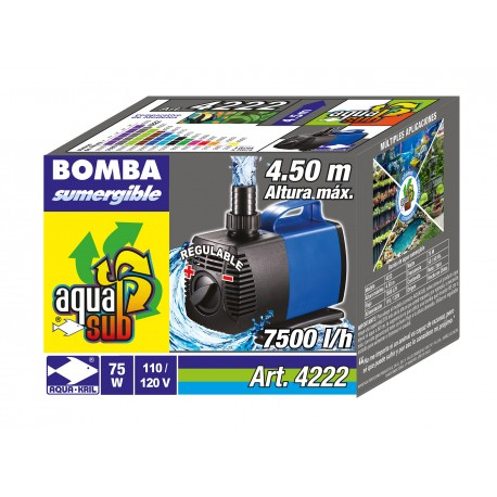 AQUASUB 7500L/H 4.5M 75W