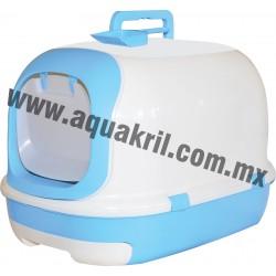 1523 Arenero Cat toilet PRIVACY con pala y filtro de carbón activado 63x41x43 cm.