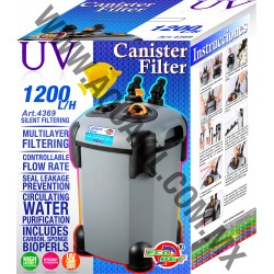 4369 CANISTER FILTER 1200 L/H