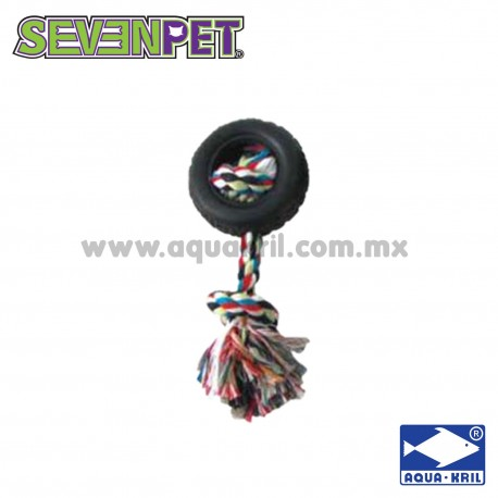 8117 LLANTA DE GOMA Y CUERDA 8X20 CM (72)