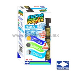 FILTRO INT PODER TRIPLE BIOESF-CARB-ESP 1500L/H